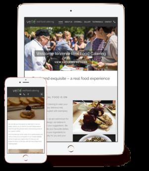 website-design-for-verve-real-food-catering